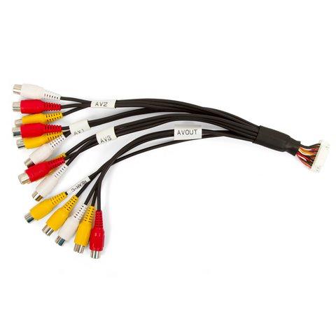 AV кабель для автомобільного відеоінтерфейсу HAVCAB0002