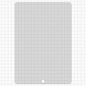 Tempered Glass Screen Protector All Spares compatible with Apple iPad Pro 10.5, (0,26 mm 9H)
