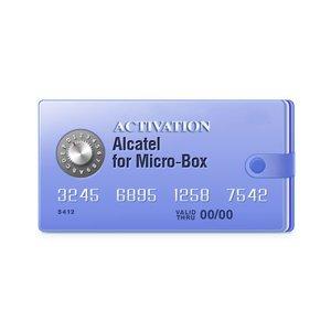 Activación Alcatel para Micro-Box