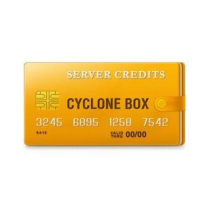Cyclone Box - серверные кредиты