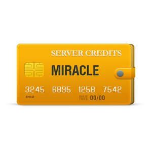 Серверные кредиты Miracle