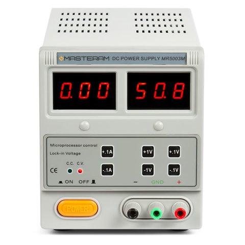Лабораторний блок живлення Masteram MR5003M