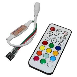 Контролер з ІЧ пультом TH2015-X-IR (RGB, WS2811, WS2812, 12 В)