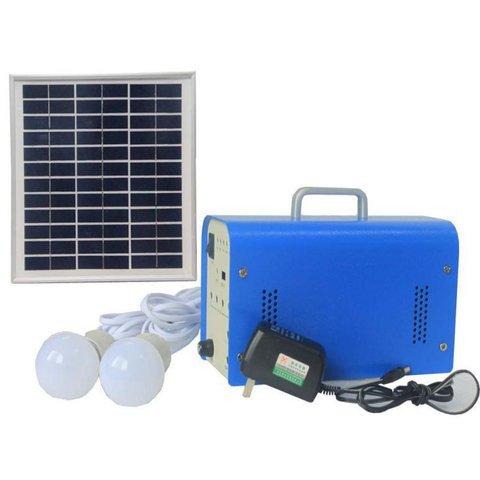 Портативна сонячна електростанція DC 10 Вт, 12 В 7.2 Аг, Poly 18 В 10 Вт