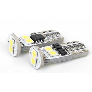 Габаритна LED-лампа W5W UP-2G-N6-T10-3030SMD-Canbus (білий, 12-14 В)