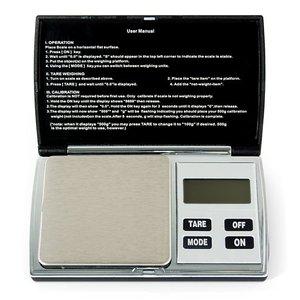 Balanza digital de bolsillo Hanke YF-W5 (100g/0.01g)